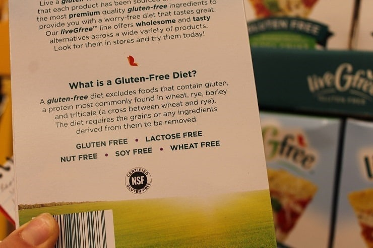 ALDI gluten free and soy free mixes