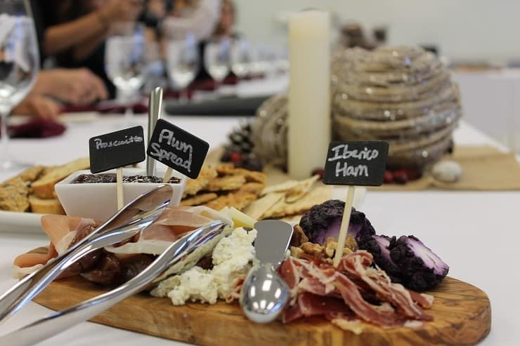 ALDI meat and cheese holiday party platters