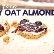 Drop That Boxed Cake Mix {Berry Oat Almond Tart Recipe}