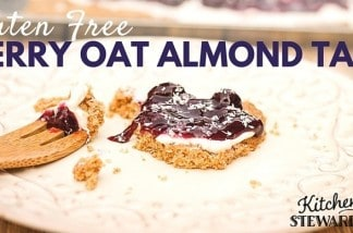 Drop That Boxed Cake Mix {Berry Oat Almond Tart Recipe}