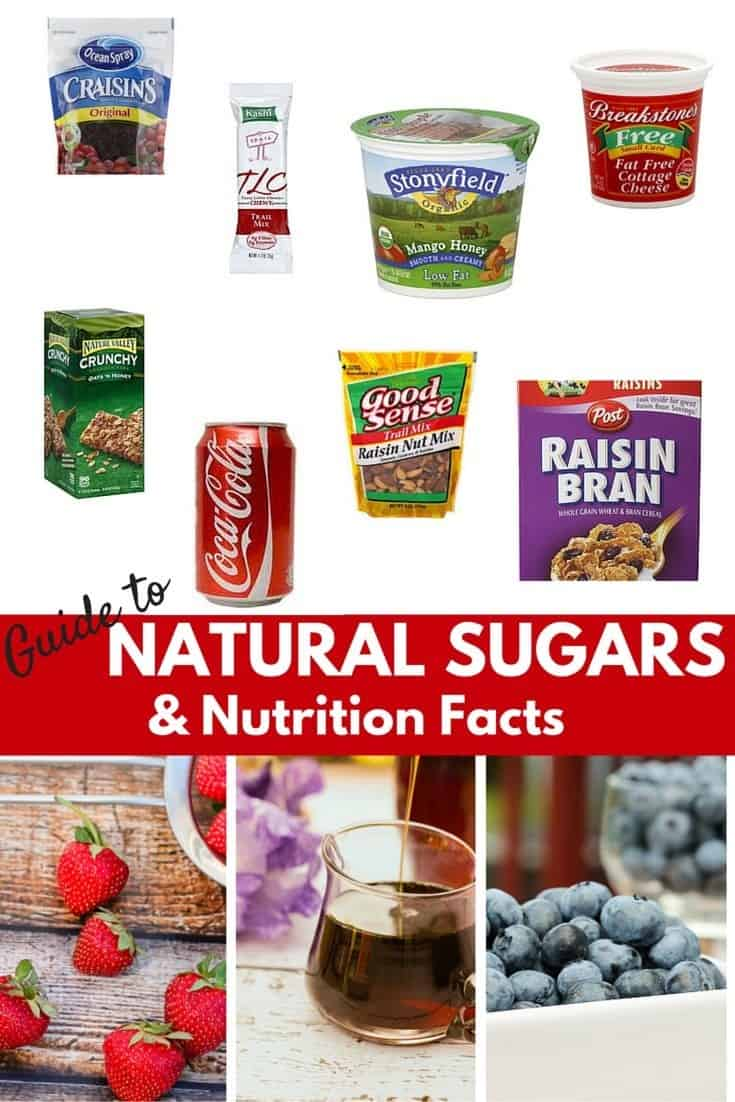 Guide to natural sugars and nutrition facts how can you tell what sugars come from healthy foo