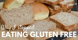 Why I Stopped Eating Gluten-Free