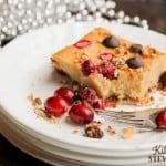 Cardamom Cranberry Christmas Cake