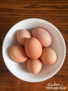 An egg's color is only determined by the breed of the chicken.