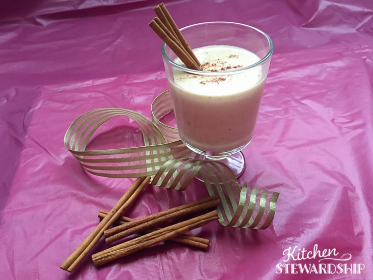 Cooked Egg Nog Recipe