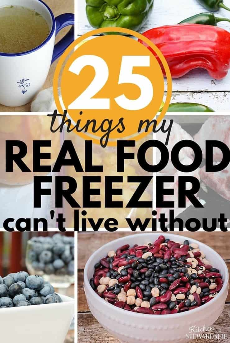 What a real foodie freezes - a LOT! It surely is not frozen pizzas and processed foods, but it still saves the day when I'm in a pinch