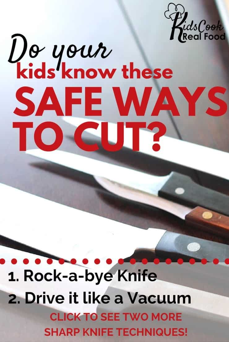 Safe ways to Cut