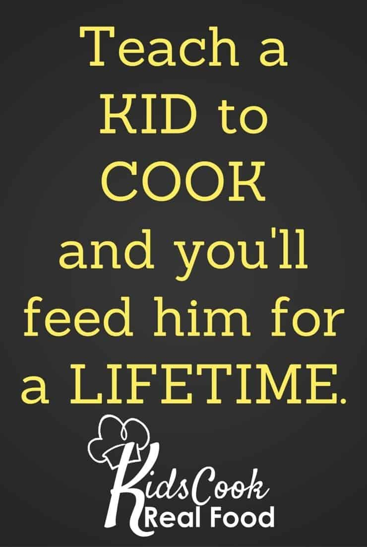 Teach a Kid to Cook