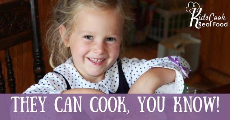 They Can Cook Too - Kids Cook Real Food eCourse