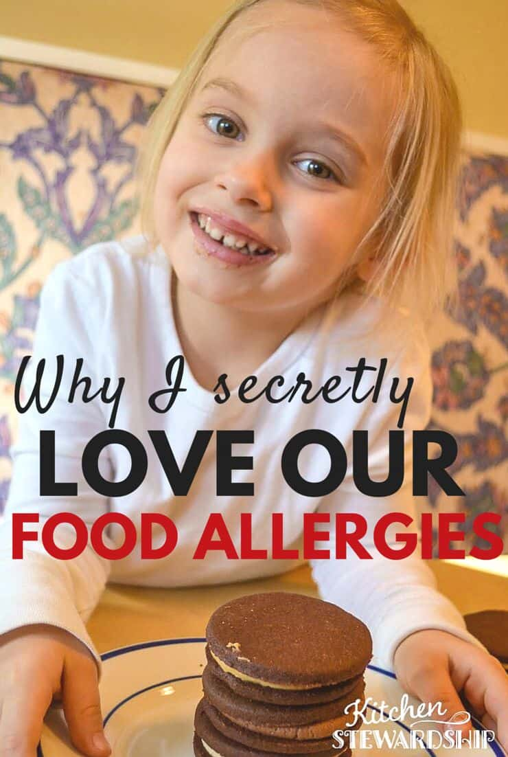 Why I Secretly Love Our Food Allergies