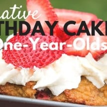 10 Alternative First Birthday Cakes {Pumpkin Fudge Recipe}