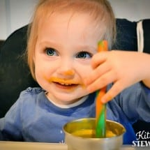How I Got My One Year Old To Eat Again {Recipe: Squash Milk}