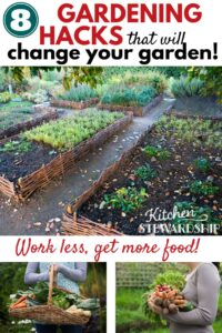 8 gardening hacks