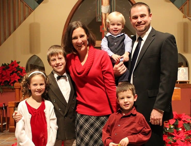 family Christmas Mass