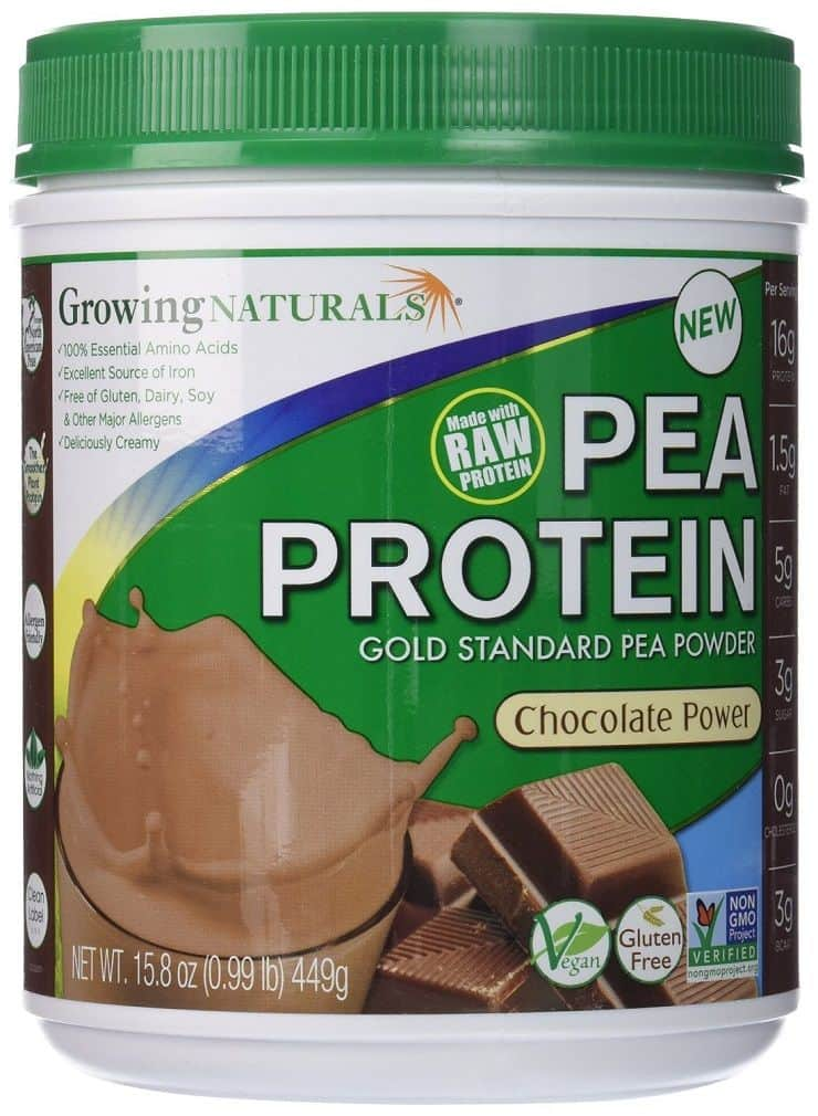 Growing Naturals Protein Powder