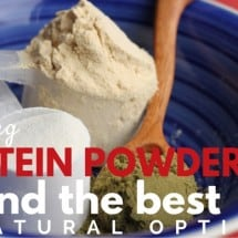 Protein Powder: Real Food? Review Finds Best Natural Option!