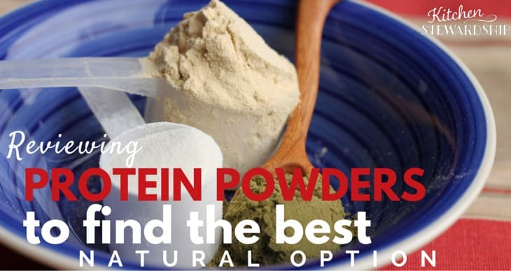 Reviewing Protein Powders