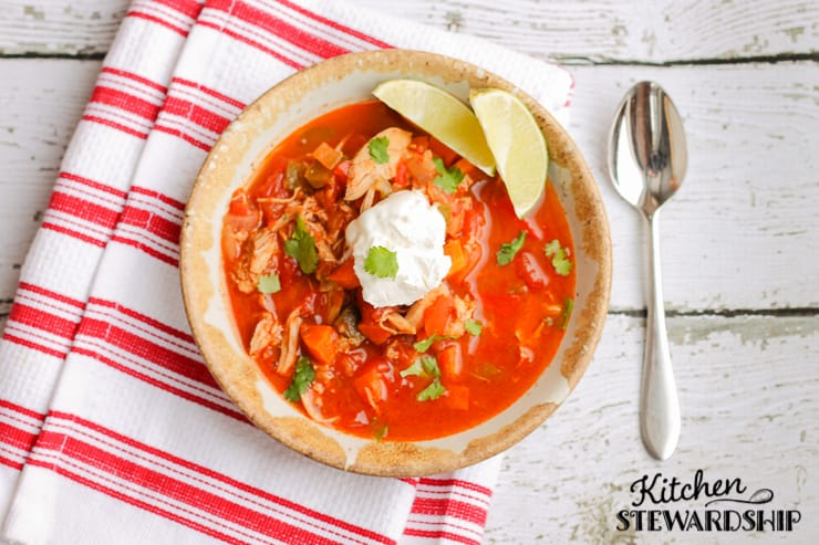 Smoky Mexican Chicken Soup