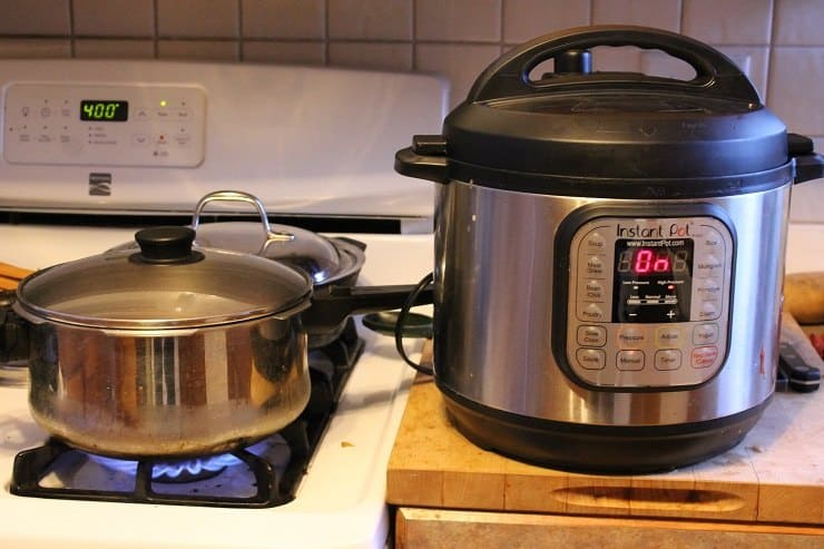The race is on - stovetop vs Instant Pot for hard-boiled eggs - the winner won by 10 minutes