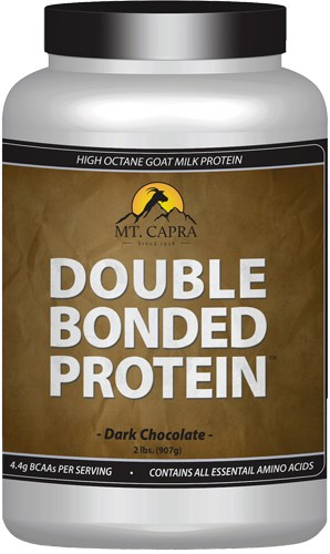double bonded protein chocolate