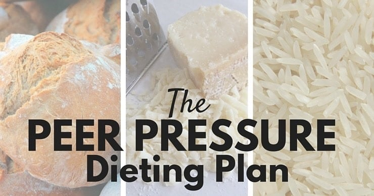 Friends Don't Let Friends Eat Grains - the peer pressure dieting plan