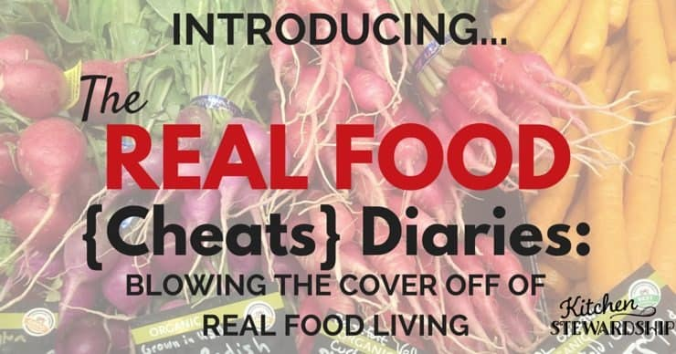 The latest in the series of Real Food Diaries - what people who claim to eat healthy REALLY eat! (Bottom line: None of us is perfect. Everyone is busy.)