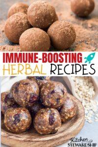 Immune-boosting herbal recipes