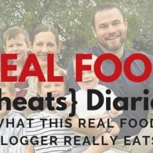 Real Food {Cheats} Diaries: I've Already Eaten Chocolate This Morning