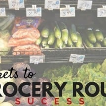 3 Steps to Grocery Routine Success