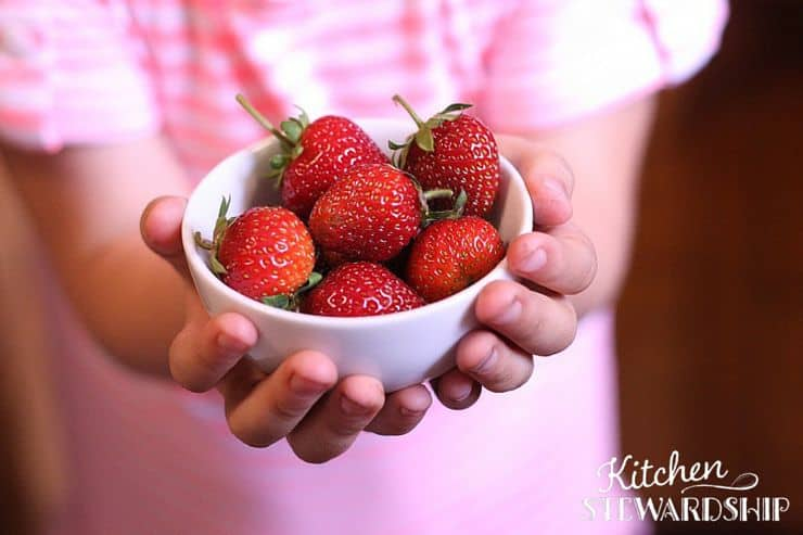 Strawberries fruit loaded with vitamin C