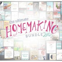 {FLASH GIVEAWAY – CLOSED} Ultimate Homemaking Bundle 2016 for 36 hours only!