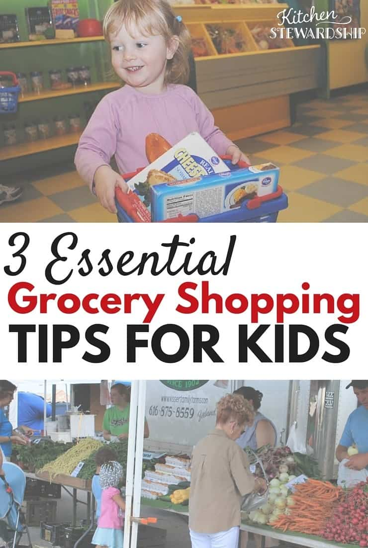 Grocery Shopping Tips for Kids