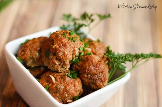 How to Batch-Cook Amazing Meatballs in no time at all - a framework recipe.