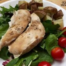 Bake and Serve: Garlic Maple Chicken Recipe