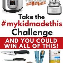 Take the #mykidmadethis Challenge! {NOW OVER}