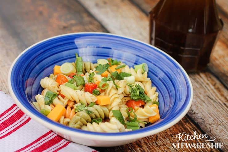 Traditional Pasta Salad