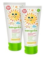 Babyganics Mineral Based Sunscreens Review