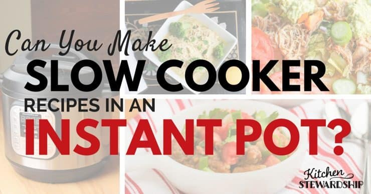 Can you make slow cooker recipes with an electric pressure cooker