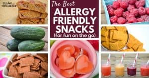 Stay safe and enjoy summer outings with the best allergy friendly snacks around. No processed foods, gums or artificial ingredients. Just real food that is safe for everyone.