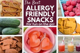 The Best Real Food Allergy Friendly Snacks {For Your Road Trips & Summer Fun}