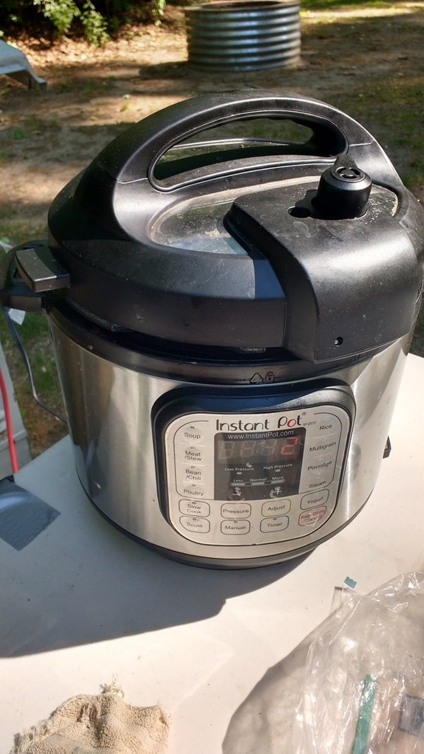 Camping with the Instant Pot - dinner is ready when you are