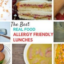 The Best Real Food Allergy Friendly Lunches {Portable & Easy}