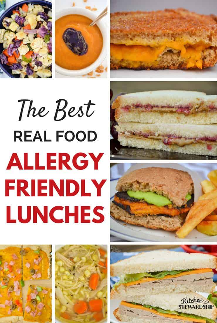 The Best Real Food Allergy Friendly Lunches
