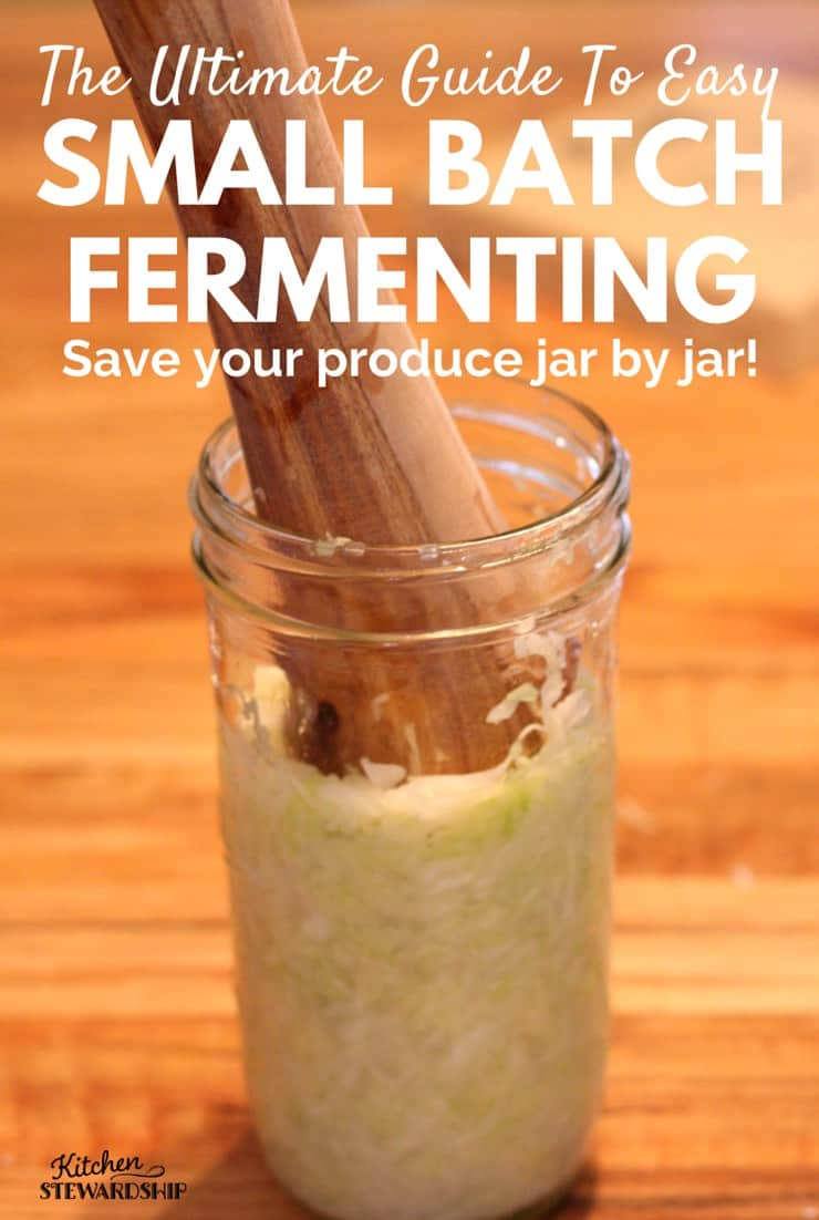 The Ultimate Guide to Easy Small Batch Fermenting preserve any produce jar by jar