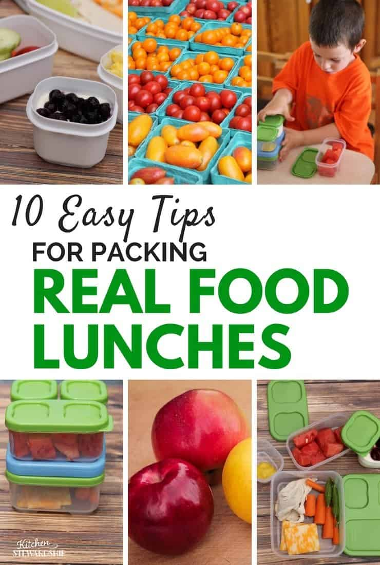 10 easy tips for packing real food lunches for kids