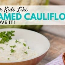 Healthy Creamed Cauliflower (Instead of Mashed Potatoes)