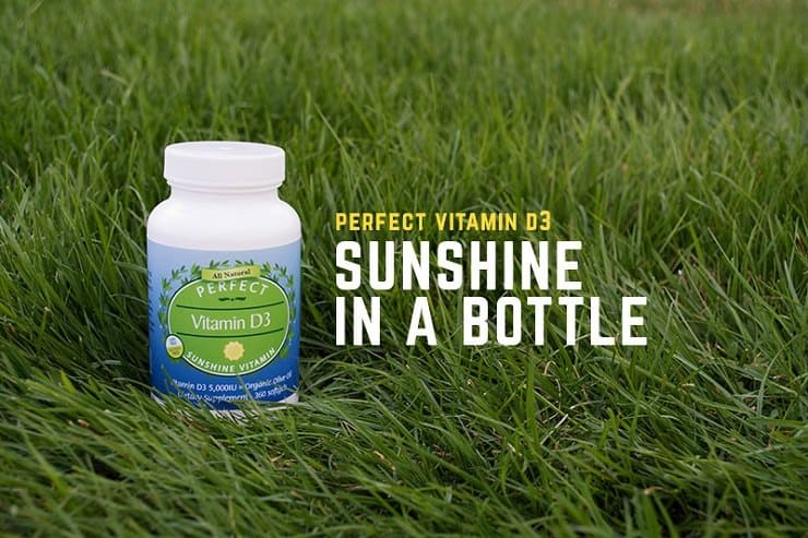Perfect Supplements Vitamin D - sunshine in a bottle