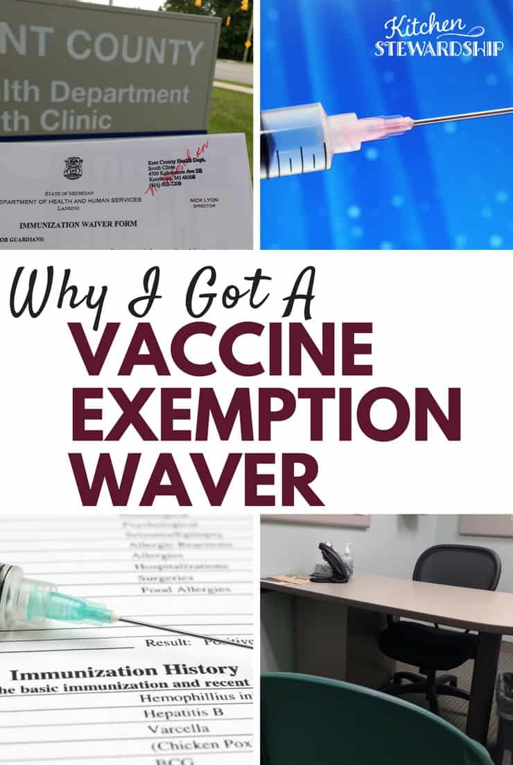 Why I Got A Vaccine Exemption Waiver