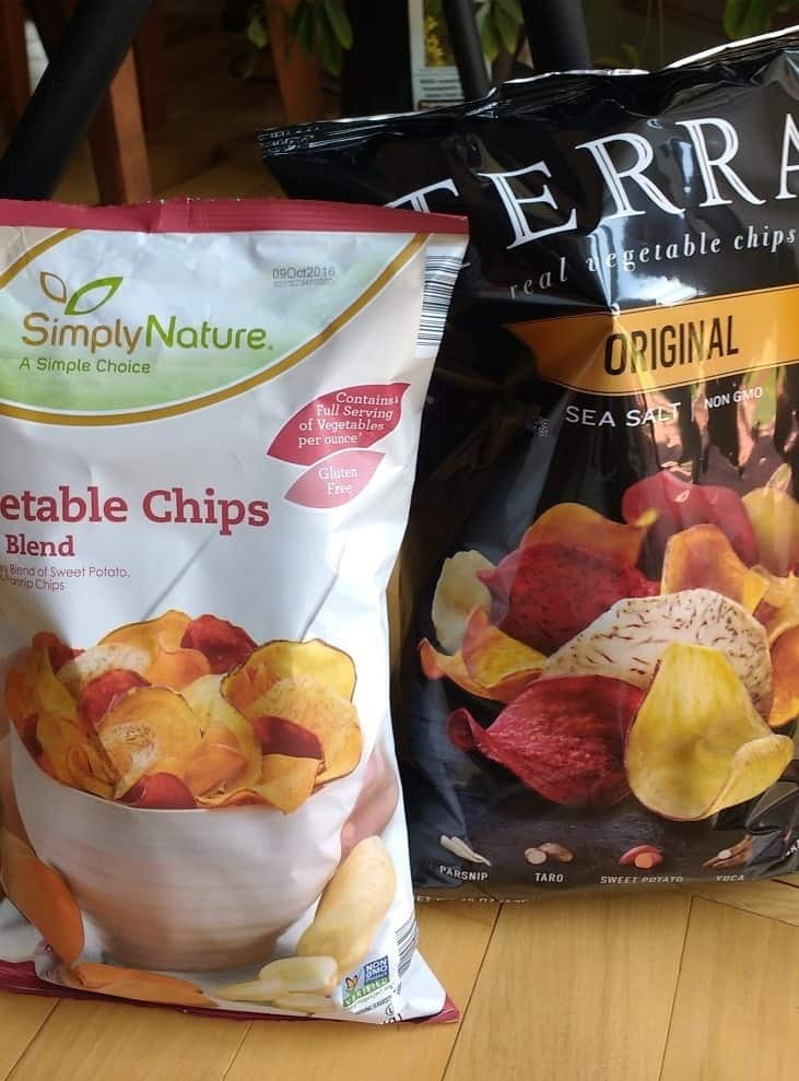Costco vs ALDI vegetable chips I think theyre exactly the same