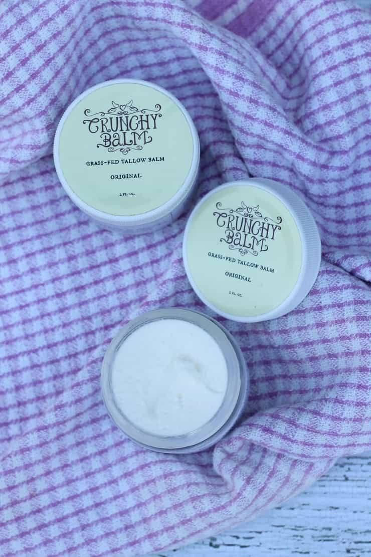 Grassfed tallow lotion - so nourishing!